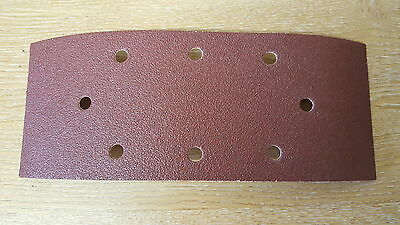 10 SANDING SHEETS 1/3 PUNCHED  ALL GRITS FITS Orbital Sanders-521333-264125