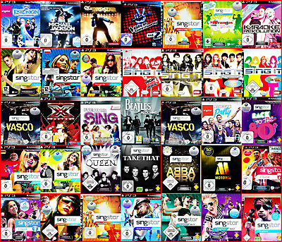 PS3 SINGSTAR: Disney, Germany, ABBA,Sing It, Apres SKI, Pop; 80s,Vol.3,Mallorca