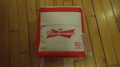 Budweiser  insulated BACKPACK BEER bag HOLDS 20 cans