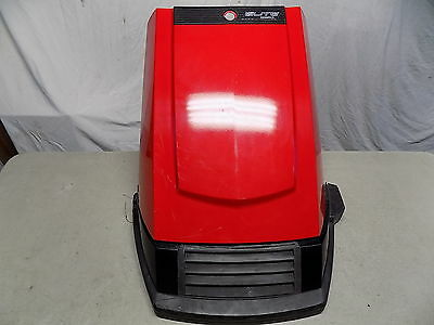 88 Honda Elite CH 80 Red Hood Front Fairing Cover w/ Bumper Lower ~FastFreeShip~