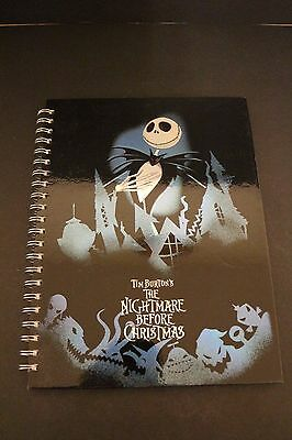 Disney Nightmare Before Christmas Ring Bound Notebook A4