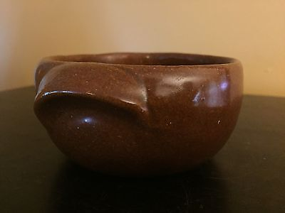 Vintage Bybee Kentucky Brown Pottery Bowl