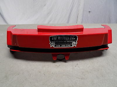 88 Honda Elite CH 80 Red Front Upper Fairing Cover ~FastFreeShip~