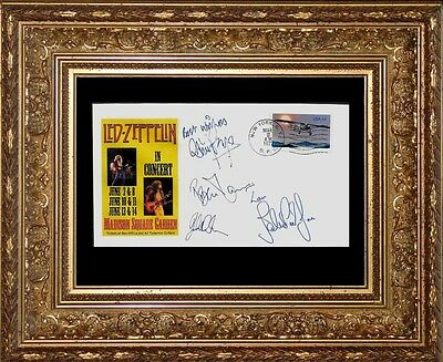 1977 Led Zeppelin Tour Featured on Collector's Envelope *X351