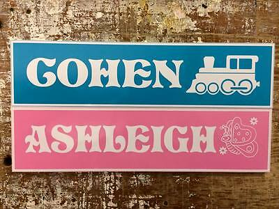 Personalised Stable, Kennel, House, Door, Name Plate/Sign wide range of styles