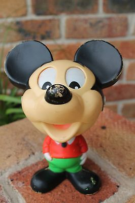 Vintage/Retro Mickey Mouse Pull Talking Mattel 1975 Working Condition