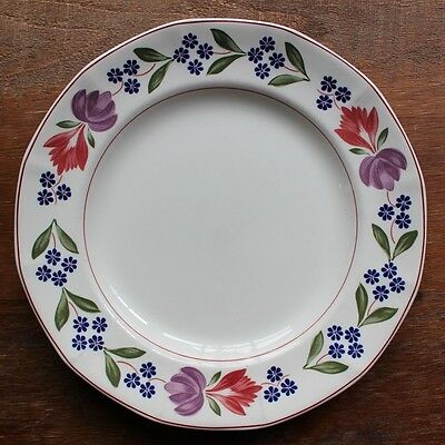 Vintage Adams Old Colonial Dinner Plates Set of 3 Ironstone Made in England