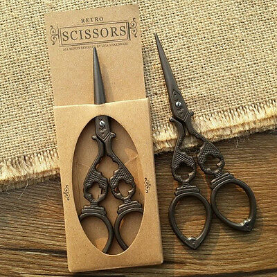 """4.7"""" Stainless Steel Vacuum Cross Stitch Sewing Embroidery Scissors Shears"""