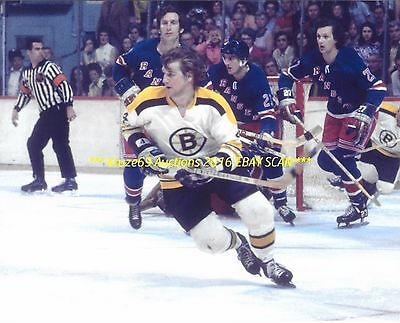 BOBBY ORR In ACTION 1972 CUP FINALS 8x10 Photo BOSTON BRUINS HOF GREAT #4