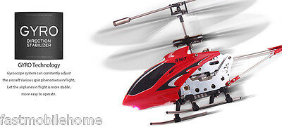 Syma S107G 3CH Remote Control Helicopter Alloy Copter Gyroscope Cool LED New