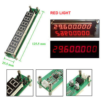 0.1MHz~1000MHz digital Frequency counter meter tester Cymometer LED display