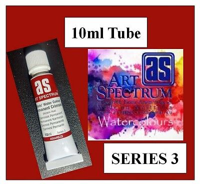 ART SPECTRUM FINEST ARTIST WATERCOLOUR 10ml TUBE PERMANENT CRIMSON SERIES 3