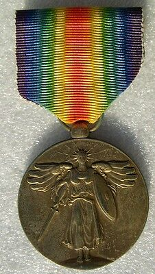 Usa Ww1 : Medaille Interalliee Us 1914-1918