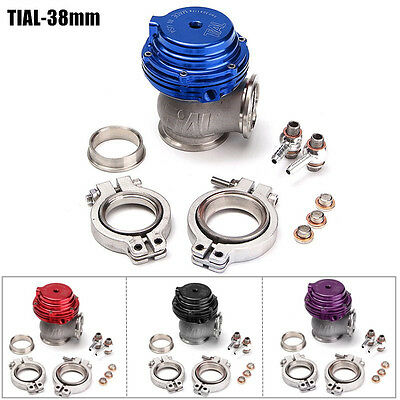 TIAL MVS 38mm Exhaust Wastegate External Turbo With V-band and Flanges MV-S NEW