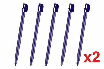 Hellfire Trading 10x Blue Touch Screen Stylus Plastic Pen for Nintendo 2DS