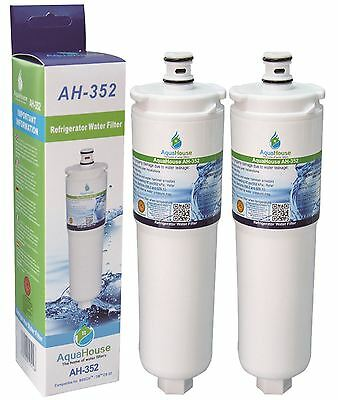 2 Compatible Fridge Filter for Bosch Neff Siemens CS-52 Water Filter CS52 640565