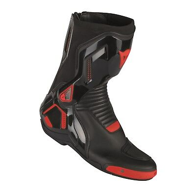 Motorrad Stiefel Dainese Cource D1 Out Farbe: Schwarz/Neonrot Gr: 45