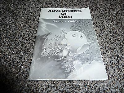 Adventures of Lolo Strategy Guide