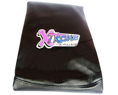 Seat cover black carbon from Xtreme for Sym Jet