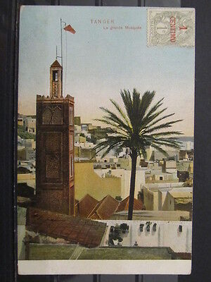 3621 Postcard Tanger Mosque used