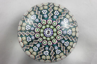 Sulfure Presse Papier Perthshire Papillon Paperweight Millefiori Butterfly Crief