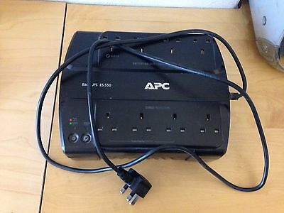 APC 550VA UPS Uninterruptible Power Supply with 8 sockets