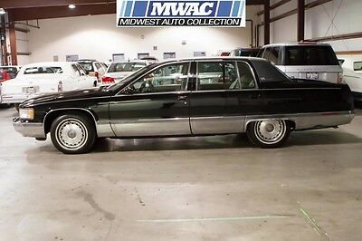 1996 Cadillac Fleetwood  TWO OWNER~RARE BLACK~BROUGHAM~LT1~LAST YEAR FOR FLEETWOOD~