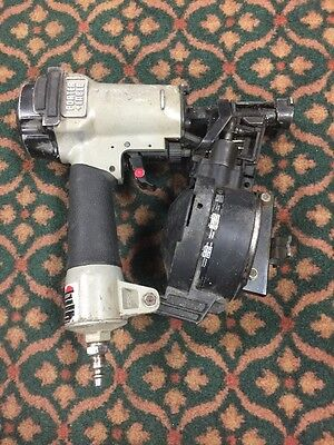 """Porter Cable Rn175A 7/8"""" To 1 3/4"""" Coil Roofing Nail Gun. Works Great"""