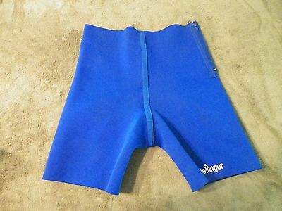 Bollinger Blue Neoprene Surf Compression Shorts - Free Shipping