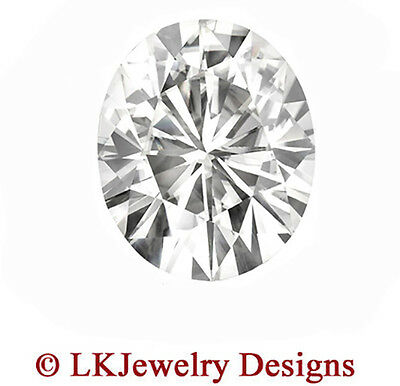 1.50 CT FOREVER CLASSIC MOISSANITE OVAL LOOSE STONE - 8 x 6 mm