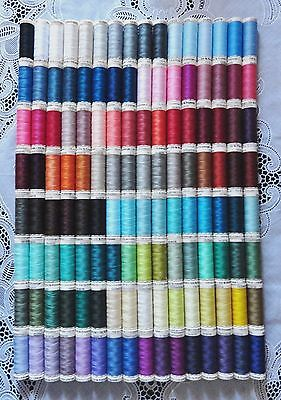 128 NEW Different colors GUTERMANN 100% polyester sew-all thread 110 yd spools