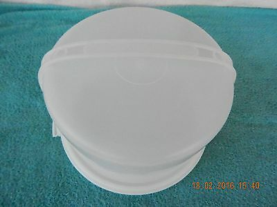 Tupperware Cake Carrier,3 Piece~ Base 684~ Cover 683~ Handle 624~ Sheer