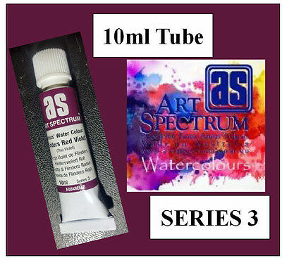 ART SPECTRUM FINEST ARTIST FLINDERS RED VIOLET WATERCOLOUR 10ml TUBESERIES 3