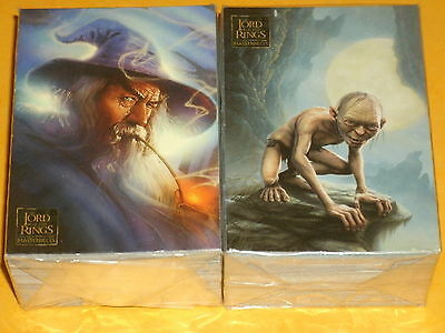 The Lord Of The Rings 'MASTERPIECES' Base Set OF 90 Trading Cards  All Art Cards