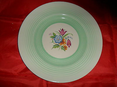 Midwinter Floral & Green Decorative Plate   (P40)