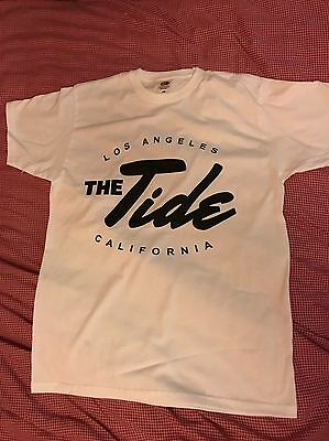 The Tide Band Tshirt - White Small Size And Free Uk P+P