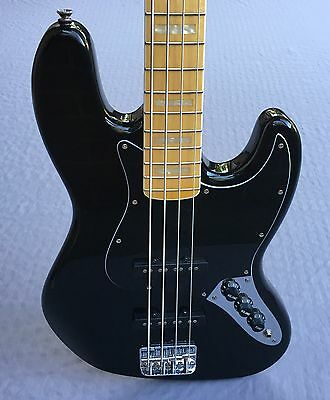 Squier '77 Vintage Modified Jazz Bass In Black