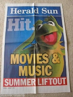 KERMIT THE FROG POSTER  The Muppets Jim Henson Sesame Street