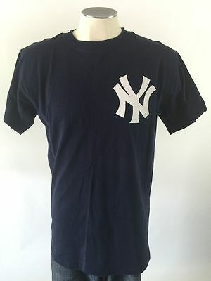 Genuine Alex Rodriguez New York Yankees Baseball T Shirt Medium Blue MLB #13