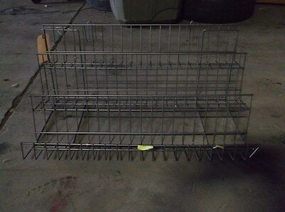 Sixteen 3-Tiered Wired Display Racks for Use for Store Display - $200