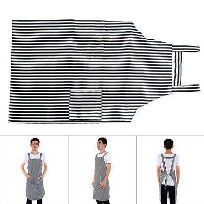 Stripes Design Salon Apron Cape Cutting Hair Colth For Barber Hairdressing WD