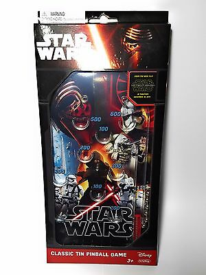 Official Star Wars Force Awakens Retro Classic Pinball Game