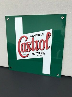 Castrol oil  racing vintage advertising sign