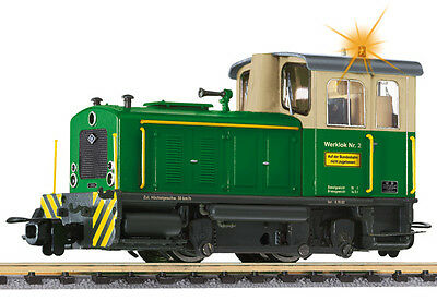 Liliput H0e L 142127 H0 Industry Locomotive O+K,yellow/green,with Warning light