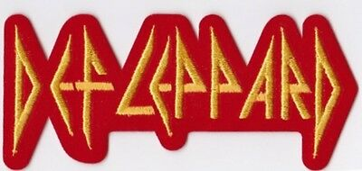 DEF LEPPARD - LOGO - IRON or SEW ON PATCH