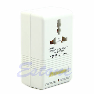 Hot Professional Power Voltage Converter 220/240V To 110/120V Adapter