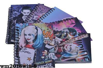 Suicide Squad Harley Quinn Journal Memo Notebook Diary Workbooks Study Work
