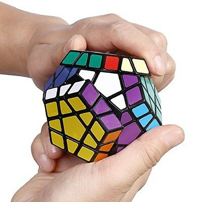 12 Side Puzzle Game Magic Cube Toy Brain Twisting Speed Party Travel Child Kid