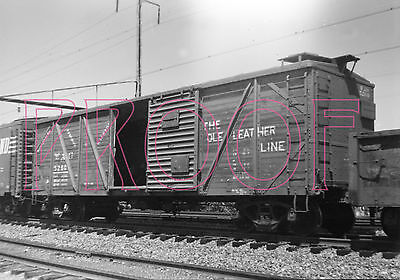 Wellsville, Addison &Galeton (WAG) Outer Braced Boxcar 5260 - 8x10 Photo