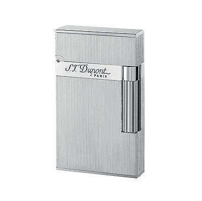 S.T DUPONT ACCENDINO LIGHTER LINEA 2  PALLADIUM BRUSHED 016404 made in france